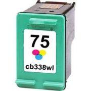 Cartucho HP 75XL Colorido Compatível  D4260 C4280 C4480