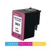Cartucho HP 901XL 901 Colorido Compatível J4660 4500