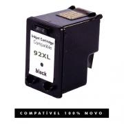 Cartucho HP 92XL 92 Preto Compatível