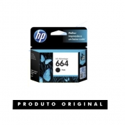 Cartucho Original HP 664 Preto