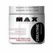 Creatina 100g Pura Mono Hidratada - Max Titanium