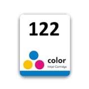 Etiqueta para cartucho HP 122 Colorido - PCTE C/ 50UN