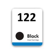 Etiqueta para cartucho HP 122 Preto - PCTE C/ 50UN