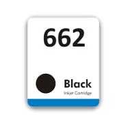 Etiqueta para cartucho HP 662 Preto - PCTE C/ 50UN
