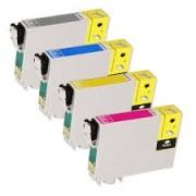 Kit 4 Cartuchos Compatíveis Epson 1331 1332 1333 1334 - T125 TX123
