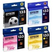 Kit 4 Cartuchos Epson 135 133 1351 1332 1333 1334 Original