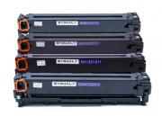 Kit 4 Toner Compatível Cb540 Cb541 Cb542 Cb543 para Cp1215 Cm1312 Cp1515