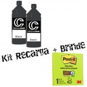 Kit Recarga Cartucho Impressora + Brinde
