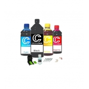 Kit Recarga Cartuchos Impressora Hp + Snap + Solução
