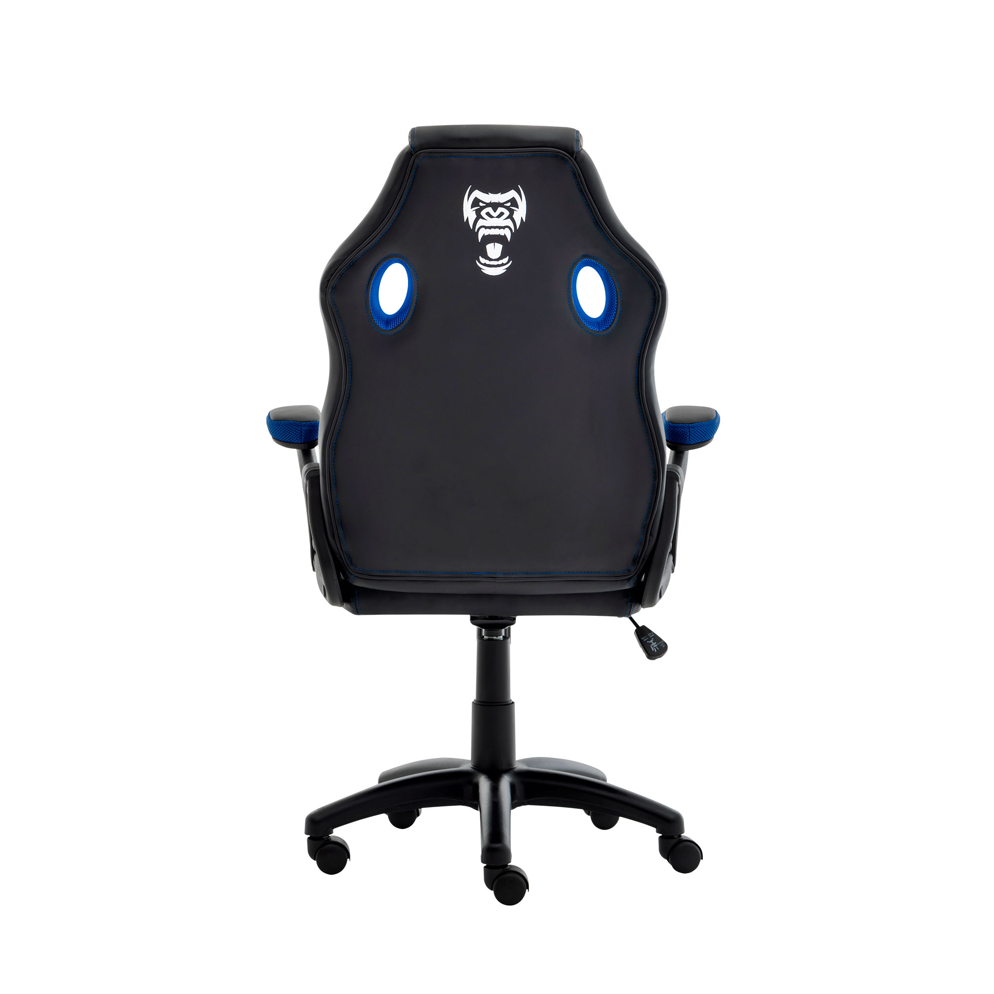 Cadeira Gamer Jungle Black/blue Clanm