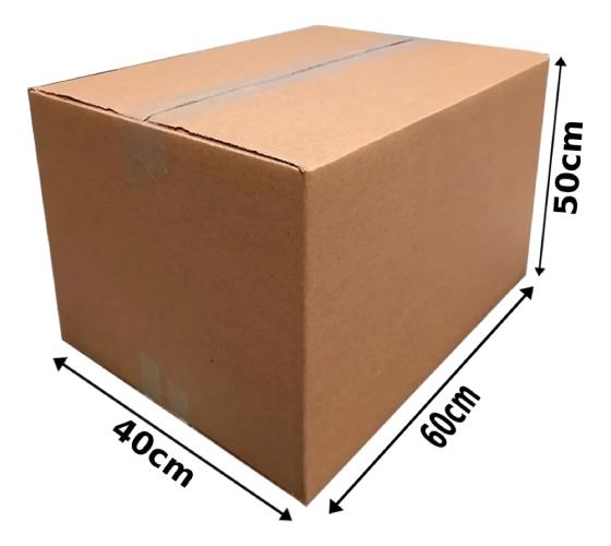 Caixa Mudança G 60 X 40 X 50 Cm 10 Unidades