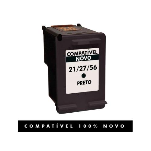 Cartucho 21xl 21 27 56 Preto Compatível Para HP F4150 F4180