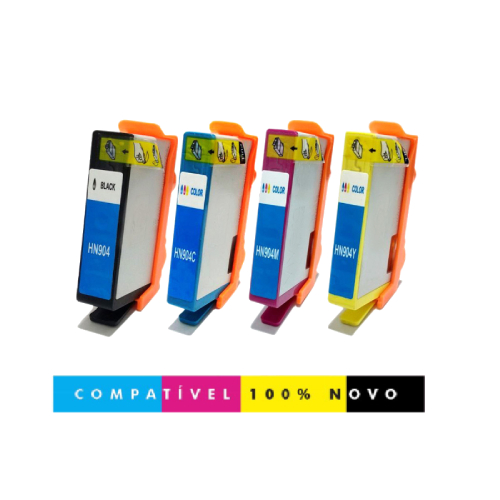 Cartucho Compatível HP 904Xl 904 6962 6961 6963 6964