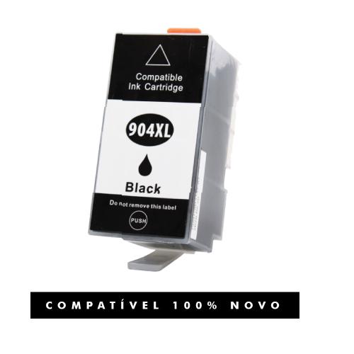 Cartucho Compatível 904XL 904 Preto 6962 6961 6963 6964
