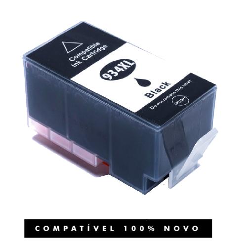 Cartucho Compativel 934xl 934 Black Officejet 6230 6830