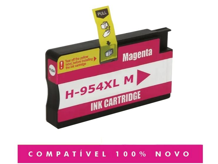 Cartucho Compatível 954xl 954 Magenta 7720 7740 8710 8720