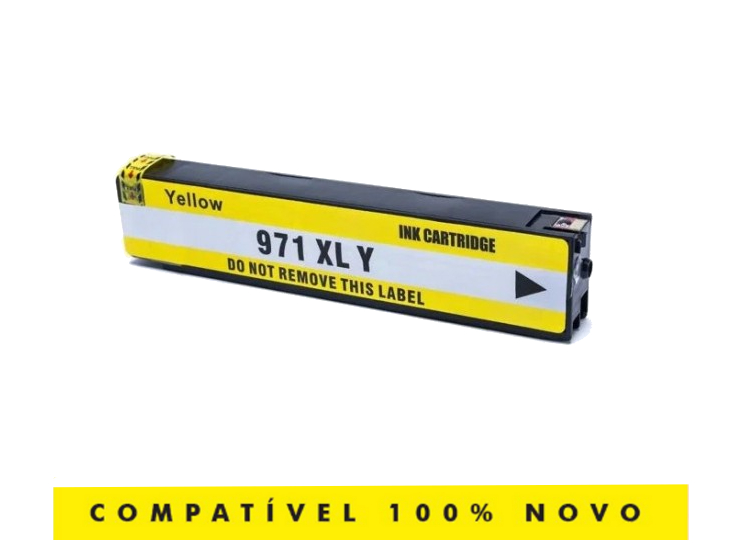 Cartucho Compatível 971xl 971 Yellow