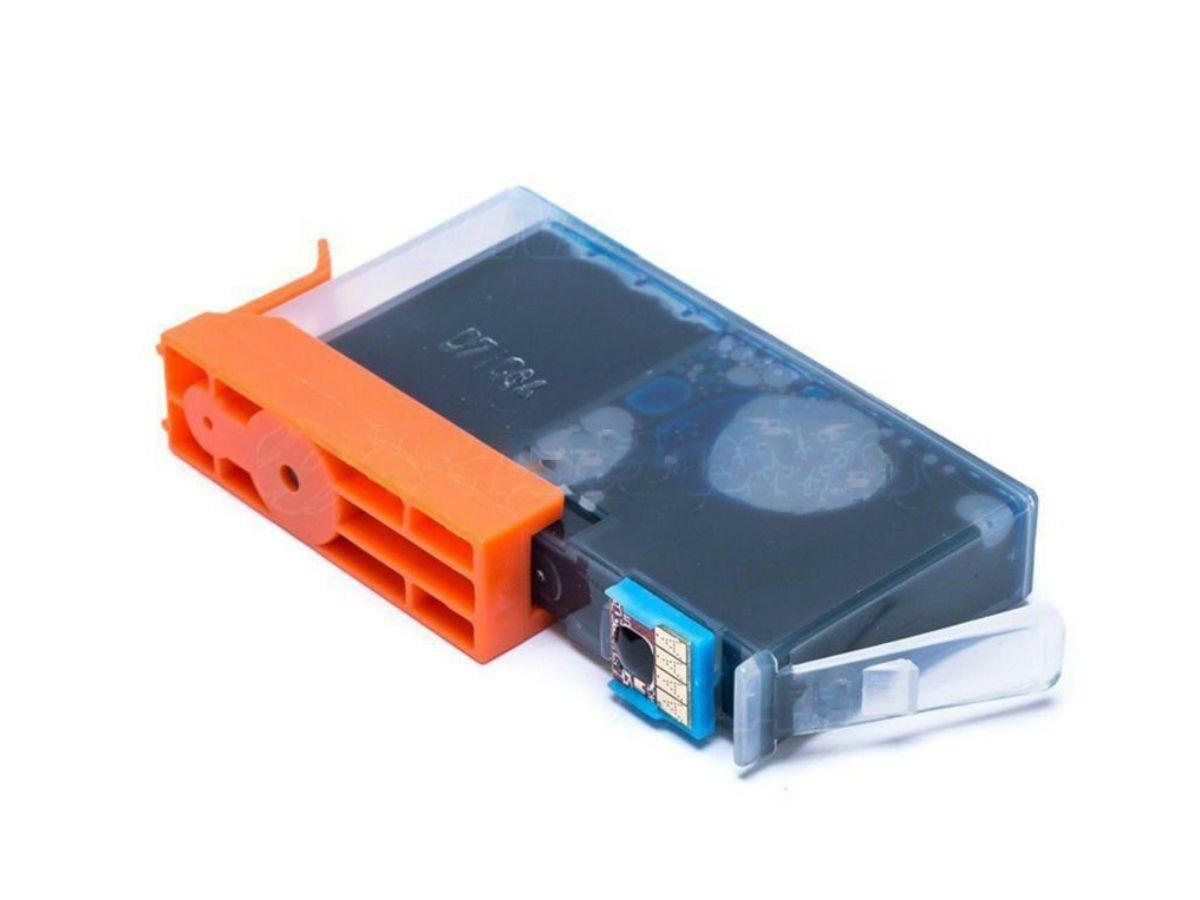 Cartucho Compatível com HP 670XL Ciano P/ Deskjet 4615 5525 4625