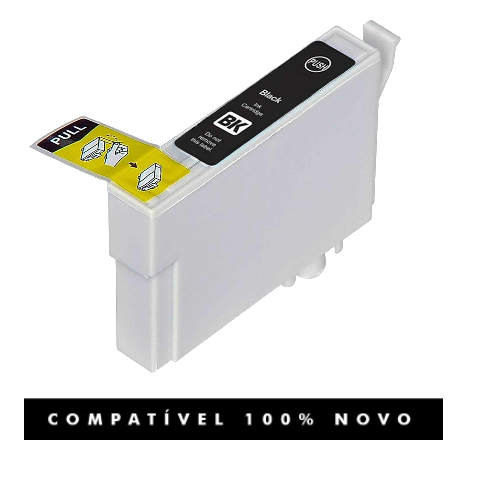 Cartucho Compatível Epson 731 73120 TO73120 73n Black
