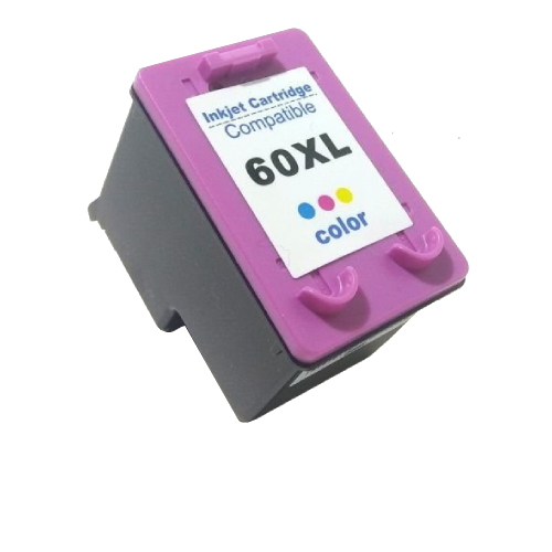 Cartucho Compatível HP 60XL 60 Colorido C4795 C4680 D410