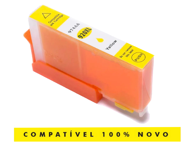 Cartucho Compatível Hp 920xl 920 Amarelo