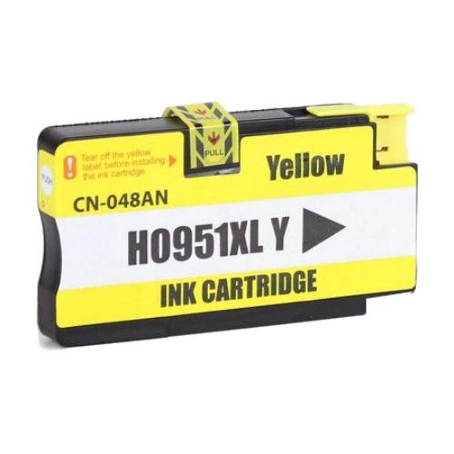 Cartucho Compatível Hp 951xl 951 Amarelo 8100 8600 8620