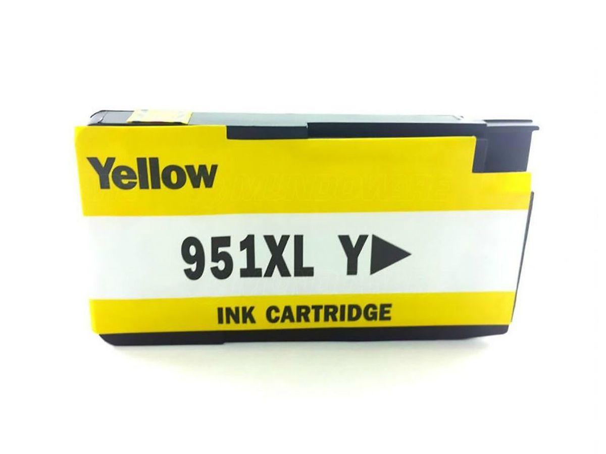 Cartucho Compatível Hp 951xl Amarelo - 8100 |8600 | 8620