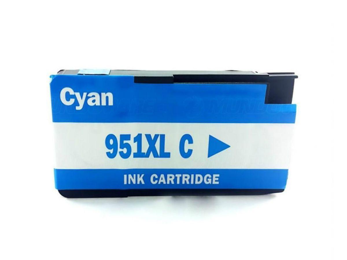 Cartucho Compatível Hp 951xl Ciano - 8100 |8600 | 8620