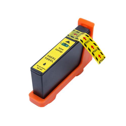 Cartucho Compatível Lexmark 100XL 100 Yellow Pro 905 Pro 805