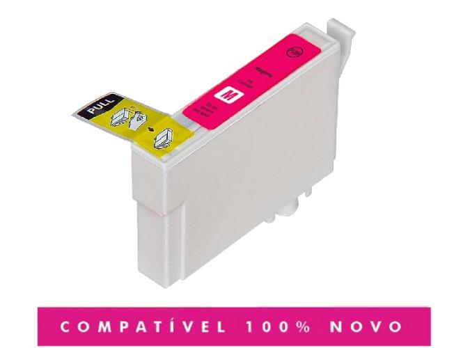 Cartucho Compatível T073 73N 733 Magenta CX5600