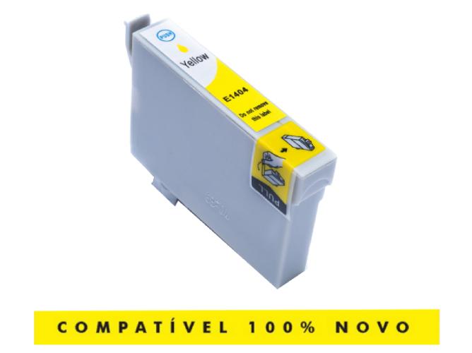 Cartucho Compatível T1404 T140420 1404 Yellow