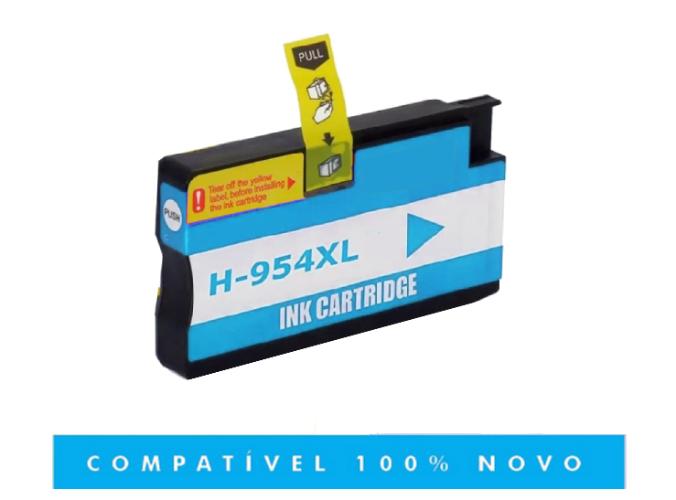 Cartucho Cyan Compativel 954xl 954 7720 7740 8710 8720 8740