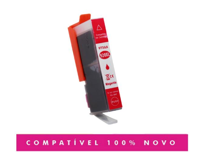 Cartucho de Tinta Compatível com HP 920XL 920 CD973 Magenta