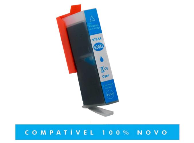 Cartucho de Tinta Compatível com HP 920XL 920 Ciano