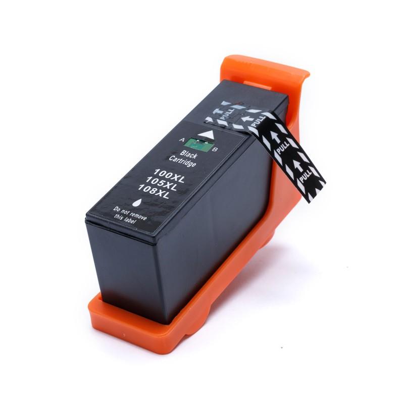 Cartucho Compatível Lexmark 100XL 100 Preto Pro905 Pro705