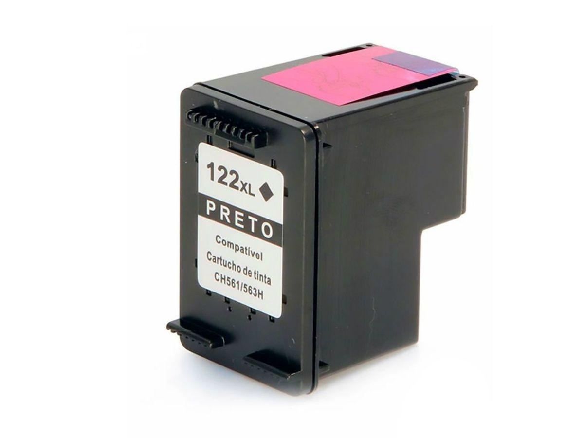 Cartucho Compatível Com 122 122xl Preto para HP 2000 2050 3050