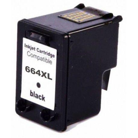 Cartucho 664XL preto compatível para HP 2515 2516 2546