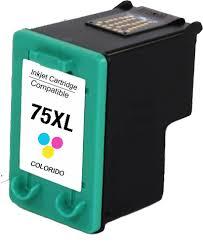 Cartucho HP 75XL 75 Colorido Compatível  D4260 C4280 C4480