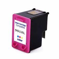 Cartucho HP 901XL Colorido Compatível J4660 4500
