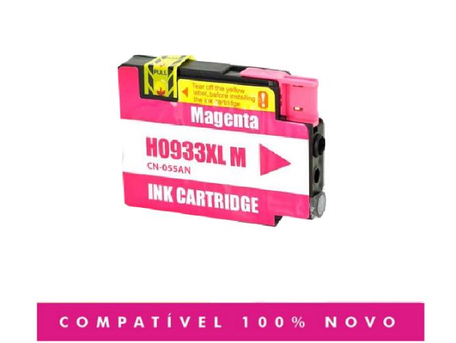 Cartucho Hp 933xl 933 Magenta Compatível