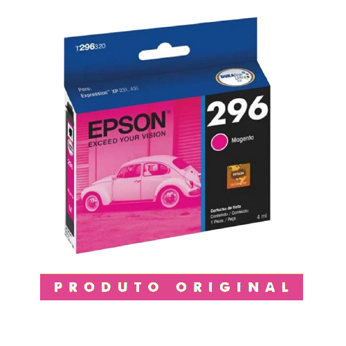 Cartucho Original 296 T296320 2963 Magenta Xp231 Xp241 431