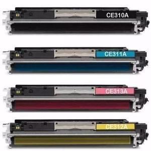 Combo 4 Toner CE310A CE311A CE312A CE313A - 1020WN / 1020 / CP1025NW / 1025