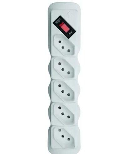 Filtro De Linha 5 Tomadas Bivolt Ilumi Protetor De Voltagem