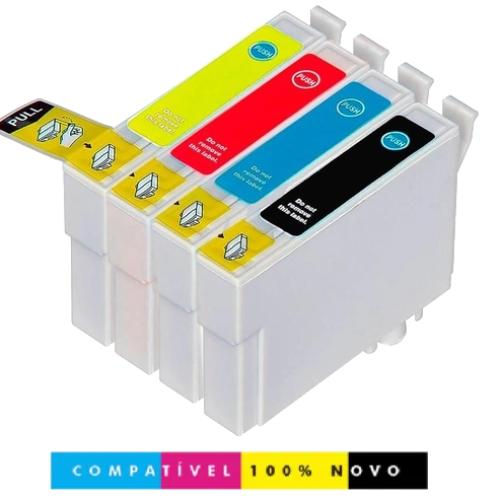 Kit 4 Cartuchos Epson 1331 1332 1333 1334 T125 Tx123