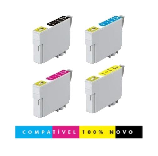 Kit Cartucho Compatível Epson T0631 T0632 T0633 T0634