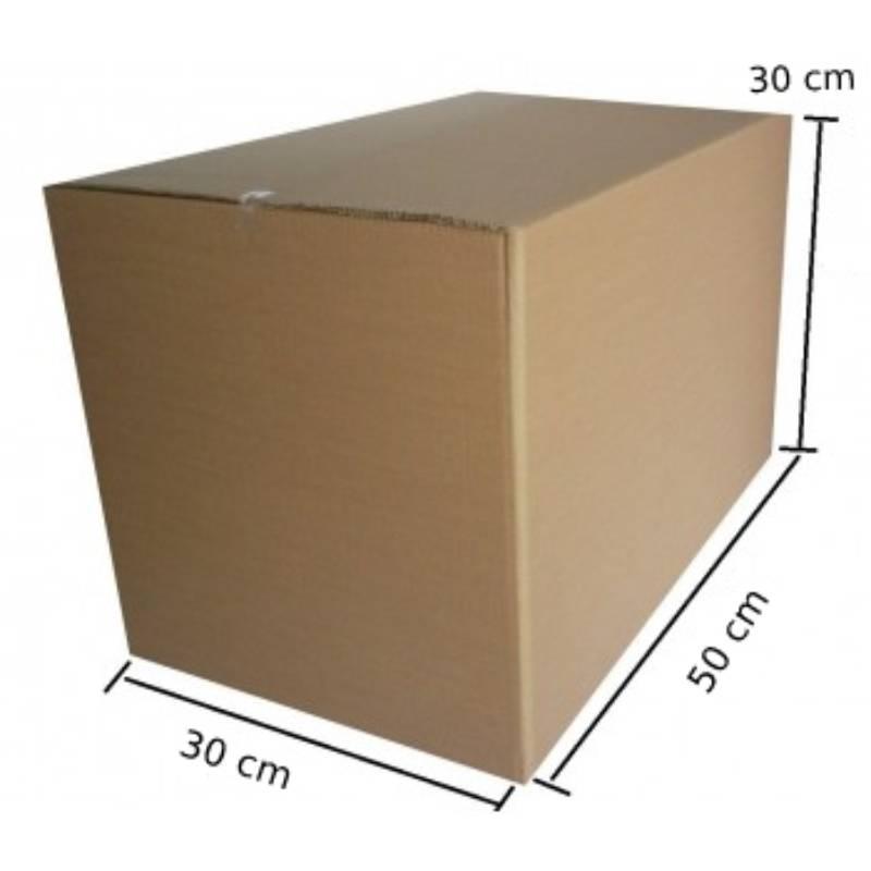 Kit Mudança 10 Caixas 50 x 30 x 30