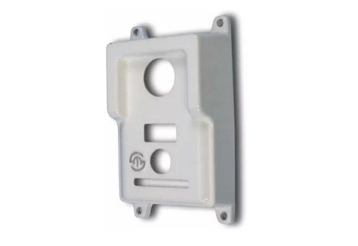 Protetor Interfones Lider Lr570 Br Em Alumínio