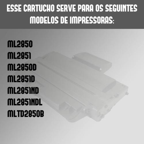 Toner 2850 2851 Mld2850b Mld2850a Ml2850 Ml2850d Compatível