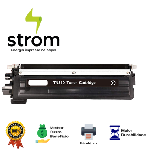 Toner Brother Tn210 210 Preto 3040 Compatível