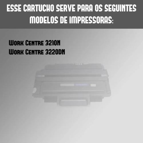 Toner Compatível 3210 3220 106r01487